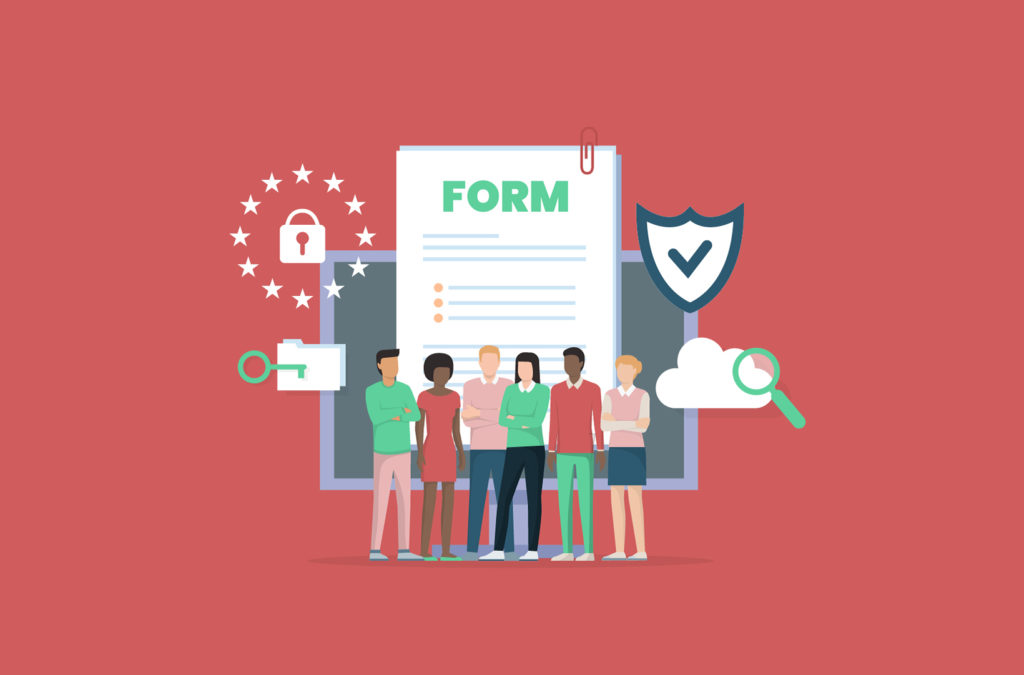 Screenshot of Gravity Forms GDPR compliance