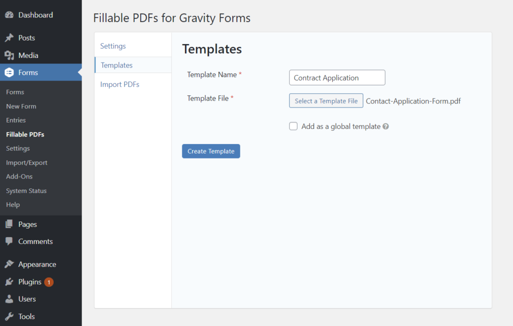 Create a new PDF