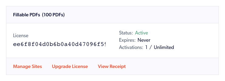 A ForGravity license, with the ability to upgrade the license