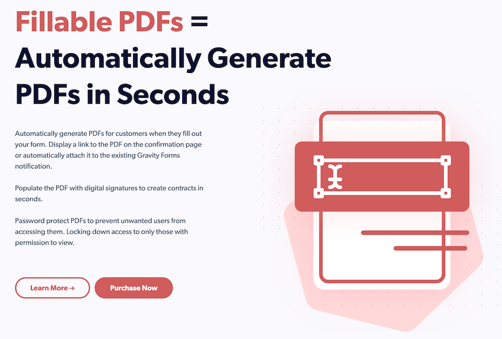 Fillable PDFs